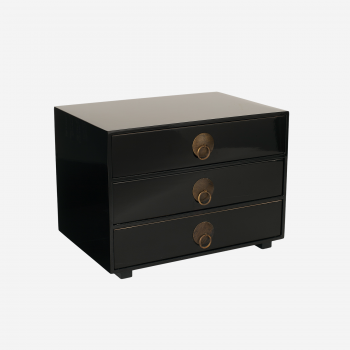 Chest of drawers black-20