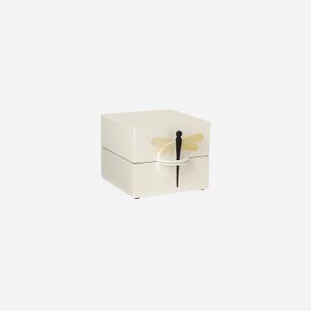 Lacquer box S white-20