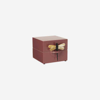 Lacquer box S warm red-20
