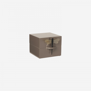 Lacquer box S mocca-20