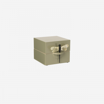 Lacquer box S olive-20