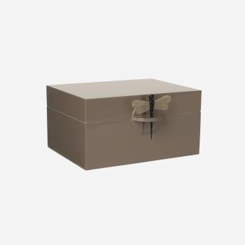 Lacquer box XL mocca-20