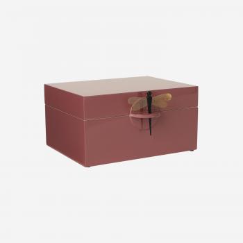 Lakskrin XL warm red-20