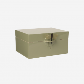 Lacquer box XL olive-20