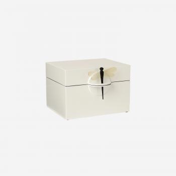 Lacquer box B white-20