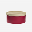 Bamboo box M Coral