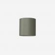 Lampshade rawsilk petrolgreen 30x30