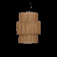 Lampeskærm, Rattan, natur