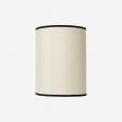 Lampshade rawsilk offwhite 30x39 cm
