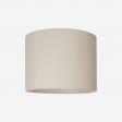 lampeskærm råsilke sand 40x30
