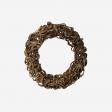 Wooden wreath S