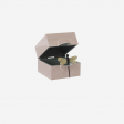 Lacquer box S pink powder