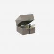 Lacquer box S brown grey