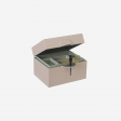Lacquer box B pink powder