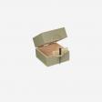 Lacquer box S olive