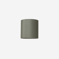 Lampshade rawsilk petrolgreen 30x30