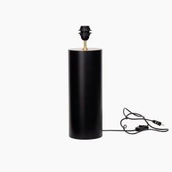 Lampstand Graphic-round mat black