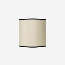 Lampshade rawsilk offwhite 30x30