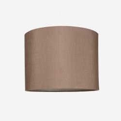 Lampeskærm råsilke rosebrown 40x30