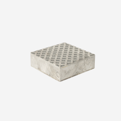 Soft stone box M grey