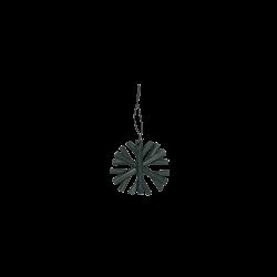 Bamboo snowflake, bottlegreen