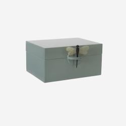 Lacquer box XL dove blue