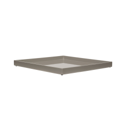 Lacquer tray 33x33 cool grey