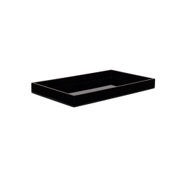 Lacquer tray 38x22 black