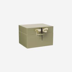 Lacquer box B olive