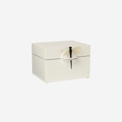 Lacquer box B white