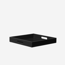 Lacquer tray 40*40 black