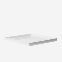 Lacquer tray 33x33 white