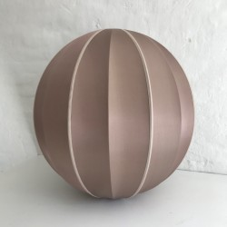 Lampshade Indochina-Round Rosebrown XL